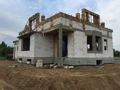Postępy na budowie domu Ofelia z pracowni MG Projekt.  #projektTypowy #gotowyprojekt #projektdoAdaptacji #projektdomu #domOfelia #budowa