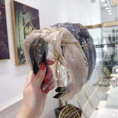 Halo Headband, Fascinator Headband, Wide Headband, Wedding Headband, Pretty Hairstyles, Girl Hairstyles, Hair Band For Girl, Fabric Headbands, Hair Vine