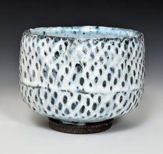 Stoneware Tea Bowl #1 by John Neely