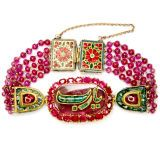 Ruby And Emerald Indian Bracelet at 1stdibs