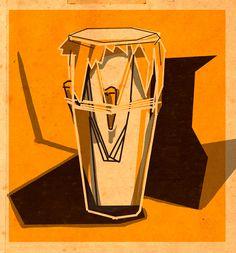 cumbia drum Plastic Art, Cali, Drums, Illustration Art, Workout, Poster, Photography, Drum, Photograph