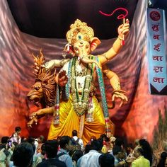 New pin for Ganpati Festival 2015 is created by by devendrapai with Mumbai Cha…