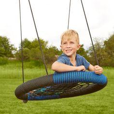 Swing-N-Slide Monster Web Swing - Swing Set Accessories at Hayneedle Play Swing Set, Swing And Slide, Swing Sets, Play Sets, Web Swing, Swing Set Accessories, Backyard Playset, Kids Indoor Playground, Outdoor Fun