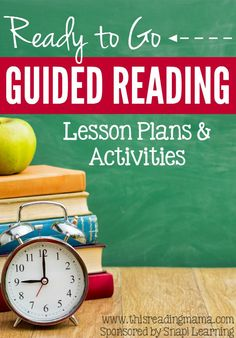 Ready to Go Guided Reading Lesson Plans and Activities ~ What a Time Saver for Classroom Teachers and Homeschoolers! | This Reading Mama