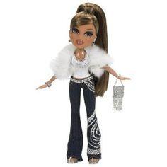 I had this doll! Bratz Forever Diamondz, Black Bratz Doll, Bratz Doll Outfits, Bratz Yasmin, Bratz Girls, Brat Doll, Pose, African American Dolls, Poppy Parker