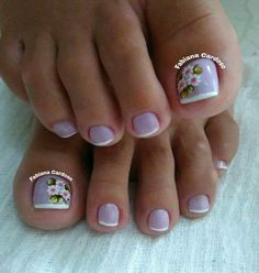 Nails Pretty Toe Nails, Pretty Toes, Fun Nails, Nail Tech School, Cruise Nails, French Pedicure, Cool Nail Designs, How To Do Nails, Nail Care