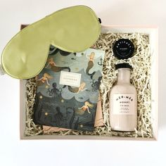 Let's Be Mermaids Curated Gift Box. Luxe & Bloom.