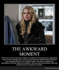 That Awkward Moment....