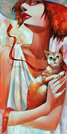 probably not Lempicka :Heroine Animal Allies: Behind Every Great Heroine is a Superpowerful Cat! -- Amethyst Wyldfyre (Business Heroine Magazine)