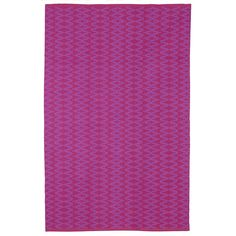 Fab Rugs Zen Marga Cotton Very Berry/Violet Area Rug | AllModern