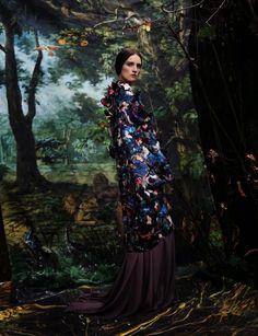 Vogue Italia March 2014 | Valentino Couture by Max Von Gumppenberg & Patrick Bienert