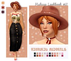 The Sims, Sims 4 Mm, Tumblr Sims 4, Sims 4 Challenges, Maxis, Sims Medieval, Cotton Blossom, Sims 4 Cc Makeup, Sims 4 Characters