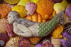 """""""Wooden Mermaid"""" by Garry Gay"""