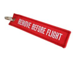 1Pc-Unique-Red-Linen-Lanyard-Remove-Before-Flight-Pilot-Bag-Luggage-Tag-Keychain