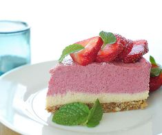 Paleo, Healthy Recipes, Healthy Meals, Raw Vegan, Cheesecake, Sweets, Dessert Ideas, Desserts, Life
