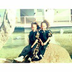 Tamara and Tia Mowry twins