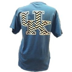 Chevron Kentucky Wildcats Comfort Colors tee!