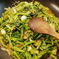 Let the food dance in your mouth! Asian Foods, Asian Recipes, Ethnic Recipes, Seaweed Salad, Stir Fry, Fries, Goodies, Sweet Like Candy, Gummi Candy