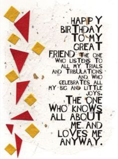 Happy birthday wishes for best friend happy birthday to a give this card to your best friend for their birthday to let them know how much you appreciate them or check out some other cards created by kay foley m4hsunfo