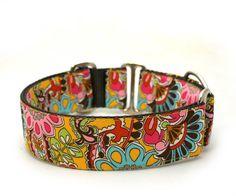 1.5 Dog Collar Bohemian Rhapsody martingale or buckle by TheModDog