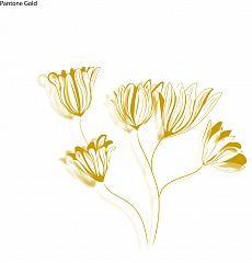 Blüten gold #wallpaper #design #christianeElle