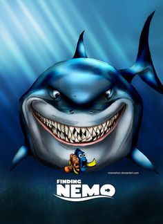 Finding Nemo Fan Art by http://mareishon.deviantart.com/art/Finding-Nemo-109372911