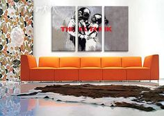 Think Tank album art and a kickass orange couch? Put the kettle on, I'm moving in.