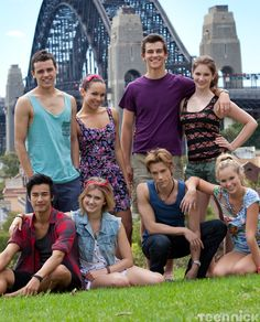 The Dance Academy cast! This show is too freaking amazing...