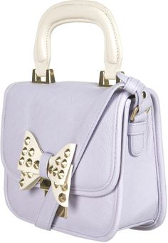 Love this: Lady Stud Bow Bag @Lyst