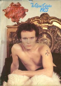 Adam Ant - Official Calendar 1983