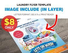 Sale Flyer, Business Flyer Templates, Advertising Design, Pop Tarts, New Work, Print Design, Laundry, Behance, Lettering