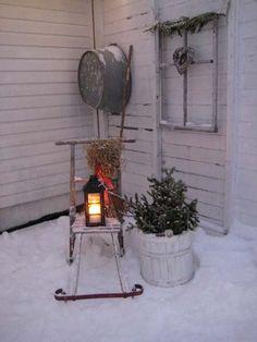 Advent garden decorations...love!