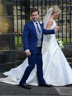 Adorable couple: Ali has worked as Ant and Dec's manager for over ten years but it wasn't ...
