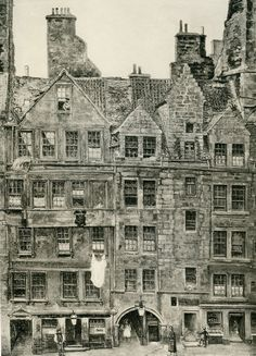 Old Houses in Edinburgh Drawing by Bruce J Home Brodie's Close 2019 Old Houses in Edinburgh Drawing by Bruce J Home Brodie's Close The post Old Houses in Edinburgh Drawing by Bruce J Home Brodie's Close 2019 appeared first on Architecture Decor. Interesting Buildings, Amazing Buildings, Old Buildings, Old Pictures, Old Photos, Old Images, Old Town Edinburgh, Old Street, British History