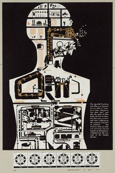 Sir Eduardo Paolozzi Man Holds the Key', 1972 © The Eduardo Paolozzi Foundation Cultura Pop, Eduardo Paolozzi, James Rosenquist, Design Observer, New Scientist, Mechanical Art, 3d Figures, A Level Art, Gcse Art