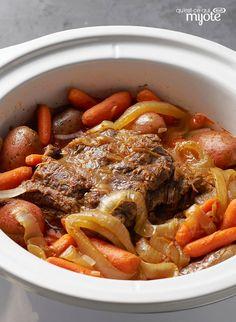 Bœuf braisé à la mijoteuse #recette