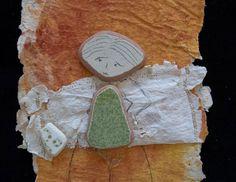 Ricordi (dettaglio), Fernanda Menendez. Handmade paper and Eolic's traces.