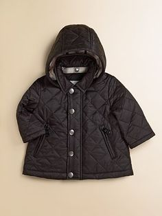 Burberry - Infant's Quilted Jacket