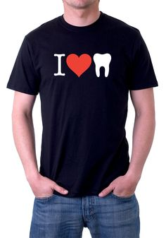 I love teeth. A possible design for our new line of shirts in the CDA store. #dentistry #dentalhumor #teeth