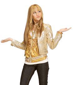 Heres an outfit idea for your next Hannah Montana party theme !