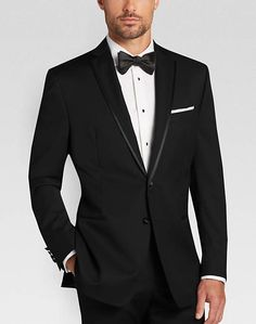 black tux with burgundy tie by freeman down the aisle