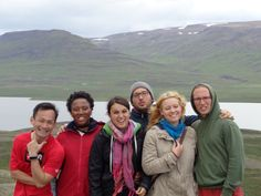 New friends from around the world in Iceland Volunteers Around The World, Volunteer Abroad, Service Projects, New Friends, Iceland, Around The Worlds, Peace, Couple Photos, Ice Land