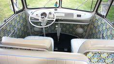 Interior VW micro bus