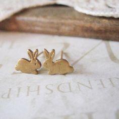Bunny ear rings