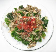 """Hens and Greens"" main salad (vegan!)"