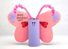 Valentine's Butterfly Craft