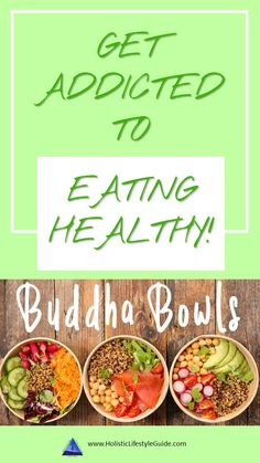 Get addicted to eating healthy with buddha bowls! I show you everything you need to know about buddha bowls. Find out why they are so good and how to make them. I also give you a comprehensive ingredient list for unlimited buddha bowl ideas! Eating Healthy, Healthy Tips, Healthy Living, Healthy Recipes, Clean Eating, Quick Healthy Breakfast, Buddha Bowl, Mindful Eating, Raw Food Recipes