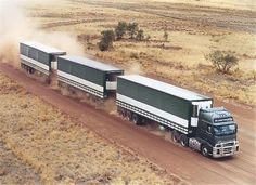 VOLVO in Australia ON MY BUCKET LIST, I have pulled triples,turnpike doubles but just once,across the outback with a train my life would be complete Chevy Diesel Trucks, Volvo Trucks, Mack Trucks, Big Rig Trucks, Semi Trucks, Powerstroke Diesel, Train Truck, Road Train, Trailers