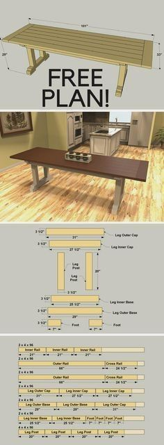 Woodworking Furniture Plans - CHECK THE PIN for Lots of DIY Wood Projects Plans. 35355399 #woodworkingplans