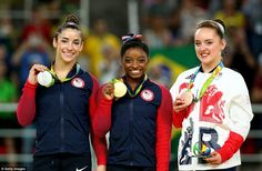 Biles' American teammate Aly Raisman, the 2012 gold medalist on the floor…